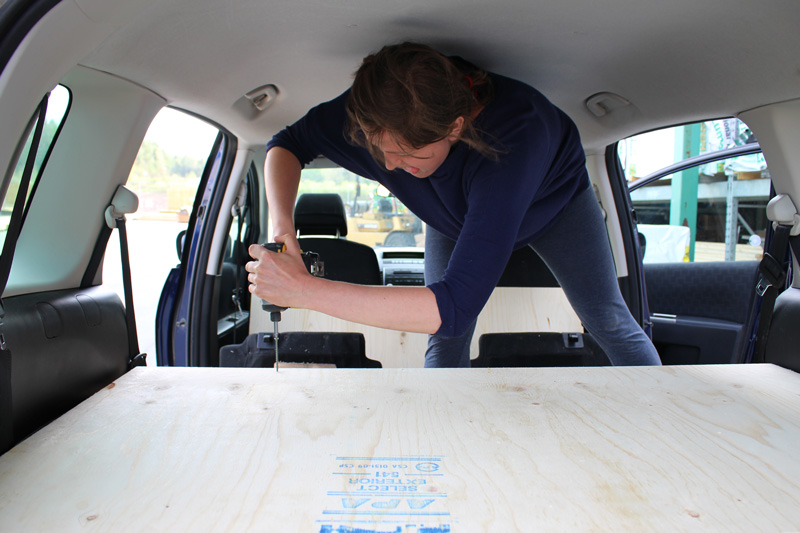 Plywood-Platte