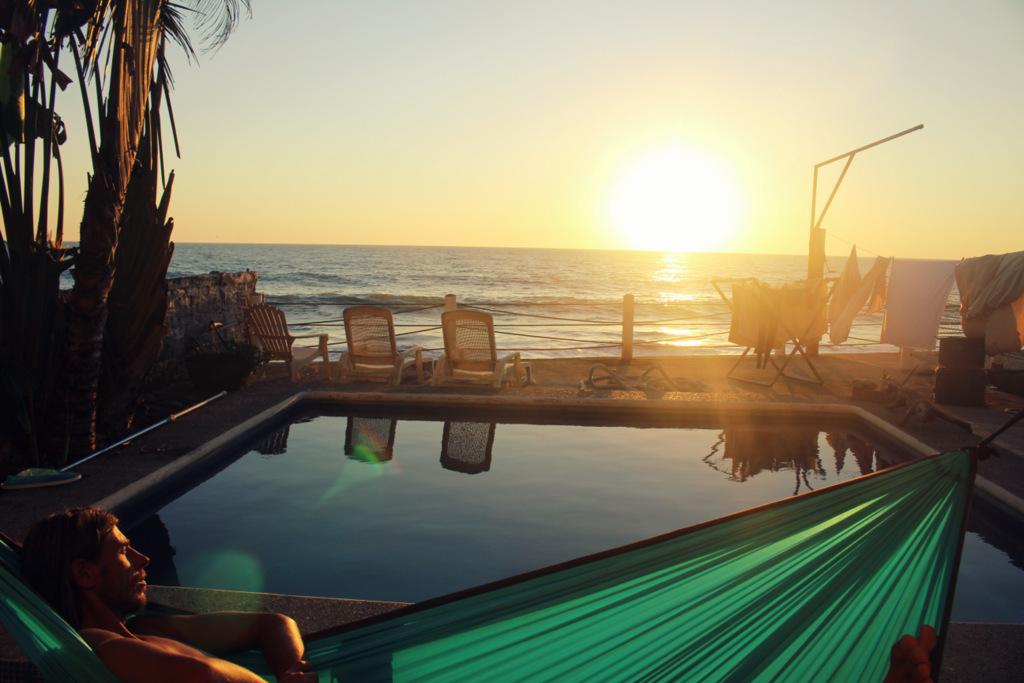 Tomamos una siesta en México