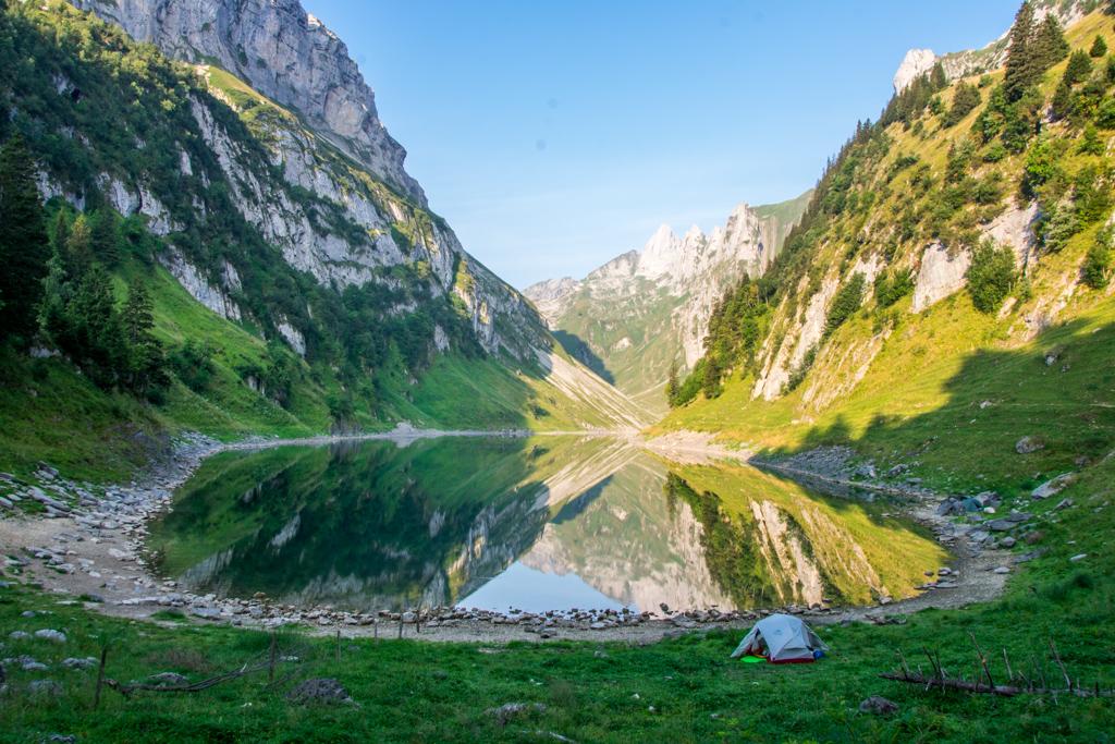 Gratwanderung am Alpstein (Schweiz)