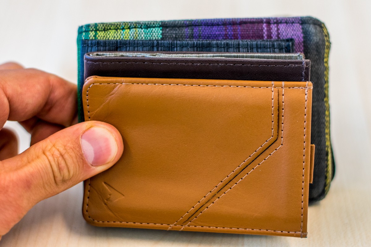 World's thinnest wallet